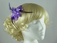  Glitter Flower Fascinator